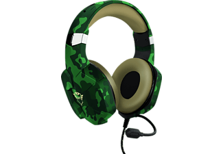 TRUST GXT 323C Carus, Over-ear Gaming Headset Camouflage Grün