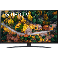 LG 43UP78009LB LCD TV (Flat, 43 Zoll / 108 cm, UHD 4K, SMART TV, webOS 6.0 mit LG ThinQ)