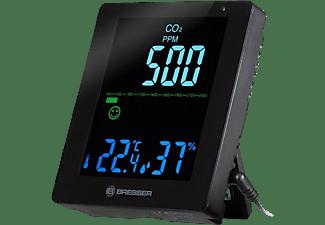 Medidor de CO2 - Bresser Smile CO2, Detección humedad, Temperatura, De 0° a +50°C, Negro