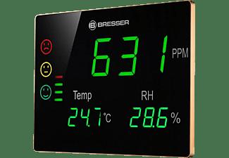 Medidor de CO2 - Bresser Smile CO2 XXL, Detección humedad, Temperatura, De -10° a +100°C, Negro