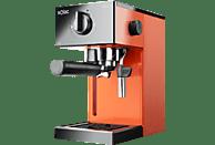 Cafetera express - Solac S92011700 CE4503, 1050 W, 1.5 l, 20 bar, 2 Tazas, Depósito extraíble, Naranja