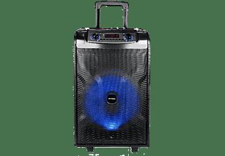 REACONDICIONADO Altavoz de gran potencia - Daewoo DSK600, 150W, Hasta 5h, Formato Troley, Karaoke, Bluetooth