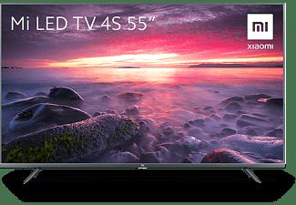 "TV LED 55"" - Xiaomi Mi TV 4S UHD 4K, Quad Core, BT, AndroidTV, PatchWall, Google Assistant, Chromecast, Blanco"