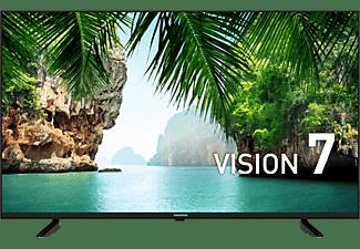 "TV LED 43"" - Grundig 43 GEU 7800B, UHD 4K, Quad Core, 32 W, Negro"