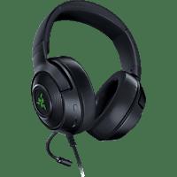 RAZER Kraken V3 X, Over-ear Gaming Headset Schwarz