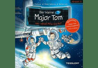 Der Kleine Major Tom - 11: Wer Rettet Ming Und Hu? (Hörspiel)  - (CD)