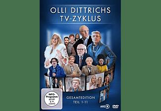 Olli Dittrichs TV-Zyklus - Gesamtedition - Teil 1-11 DVD