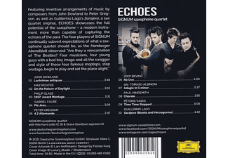 Signum Saxophone Quartet - Echoes  - (CD)