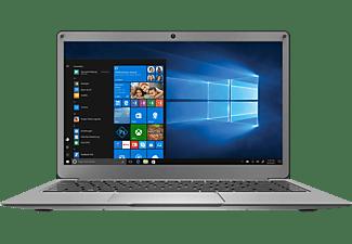 """PEAQ PNB S132-CA464DV 13""""FHD SLIM CEL 4/64, Notebook mit 13,3 Zoll Display, Intel® Celeron® Prozessor, 4 GB RAM, 64 GB eMMC, Intel HD Graphics 500, Grau"""