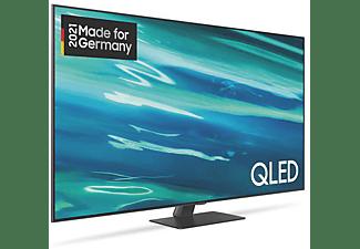 SAMSUNG GQ65Q80A QLED TV (Flat, 65 Zoll / 163 cm, UHD 4K, SMART TV, Tizen)