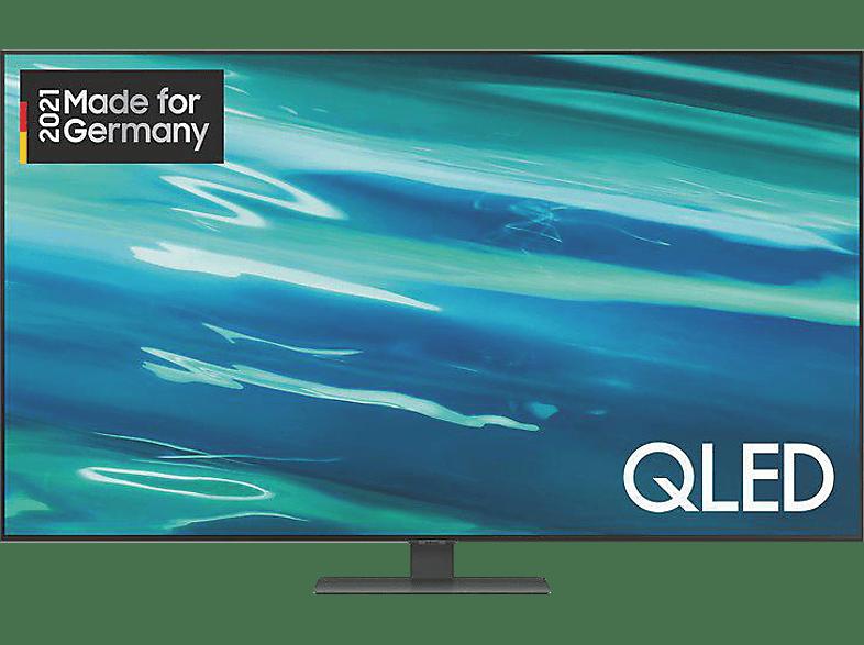 Abbildung SAMSUNG GQ75Q80A QLED TV (Flat, 75 Zoll / 189 cm, UHD 4K, SMART TV, Tizen)
