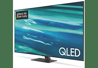 SAMSUNG GQ75Q80A QLED TV (Flat, 75 Zoll / 189 cm, UHD 4K, SMART TV, Tizen)