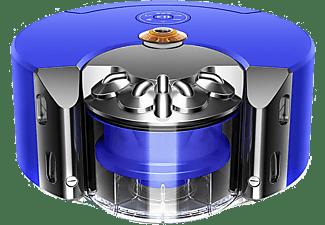 Robot aspirador - Dyson 360 Heurist, Navegación inteligente, 27 AW, 75min, 0.33 l, Azul