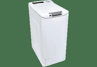 Lavadora carga superior - Hoover H-WASH 300 H3TM48TACE, 8kg, 1400rpm, Apertura Slow Motion, Blanco
