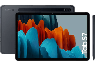 "Tablet - Samsung Galaxy Tab S7, 128 GB, Negro, WiFi, 11"" WQXGA, 6 GB RAM, Snapdragon 865 Plus, Android 10"