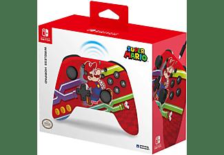 HORI Wireless Switch Controller - Super Mario, Controller, Rot