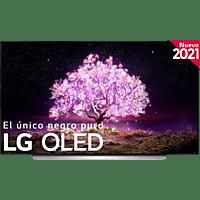 """TV OLED 77"""" - LG OLED77C15LA.AEU, UHD 4K, α9 Gen4, webOS 6.0, Smart TV, Asistentes de voz, Dolby Atmos, Blanco"""