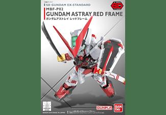 BANDAI SD GUNDAM EX-STANDARD 007 GUNDAM ASTRAY RED FRAME Modellbausatz, Mehrfarbig