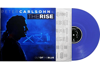 Peter Carlsohn`s The Rise - OUT OF THE BLUE (BLUE LP)  - (Vinyl)