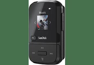 SANDISK Clip Sport Go MP3 Player (16 GB, Schwarz)