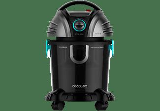 Aspirador sin bolsa - Cecotec Conga Wet&Dry Totalclean, 1400 W, 15 l, 72 dB, UltraPower technology, Negro