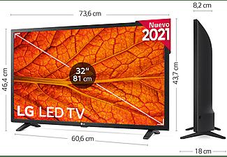 "TV LED 32"" - LG 32LM6370PLA.AEU, Full-HD, Quad Core, Smart TV, WiFi, webOS, HDR10, AI ThinQ, Negro"