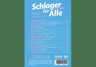 VARIOUS - Schlager für Alle:Die Neue Frühjahr/Sommer 2021  - (DVD)