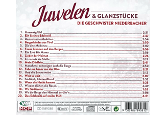Die Geschwister Niederbacher - Juwelen And Glanzstücke  - (CD)