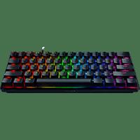RAZER Huntsman Mini, Gaming Tastatur, Opto-Mechanical, Razer Clicky Optical Switch (Lila)