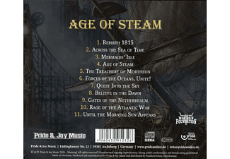 Terra Atlantica - Age Of Steam  - (CD)