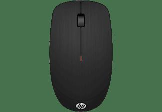 Ratón inalámbrico - HP X200, USB, DPI ajustable, Sensor óptico, Negro