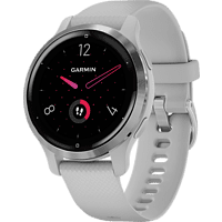 GARMIN Smartwatch Venu 2S 40mm, Hellgrau/Silber (010-02429-12)