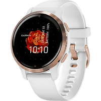 GARMIN Smartwatch Venu 2S 40mm, Weiss/Rosegold (010-02429-13)