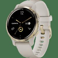 GARMIN Smartwatch Venu 2S 40mm, Beige/Hellgold (010-02429-11)