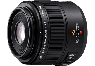 Objetivo EVIL - Panasonic H-ES045 LEICA DG MACRO-ELMARIT 45mm f/2.8, MEGA O.I.S.