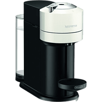 Cafetera de cápsulas - De'Longhi Vertuo Next ENV120.W, 1500 W, 1.1 l, Con cápsulas monodosis, Blanco