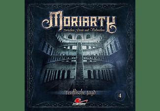 Moriarty-zwischen Genie Und Verbrechen - Moriarty 04-Teuflische Jagd  - (CD)