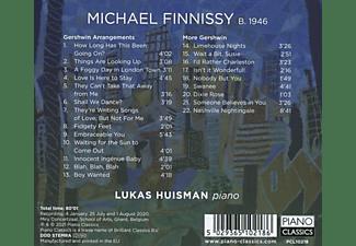 Lukas Huisman - Finnissy:Gershwin Arrangements,More Gershwin  - (CD)