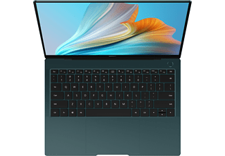 HUAWEI Matebook X Pro 2021, Notebook mit 13,9 Zoll Display Touchscreen, Intel® Core™ i7 Prozessor, 16 GB RAM, 1 TB SSD, Intel® Iris® Xe Graphics, Emerald Green
