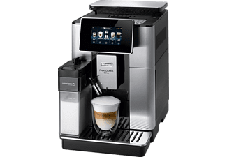 DELONGHI Primadonna Soul ECAM 610.75 MB  Kaffeevollautomat Metall/Silber