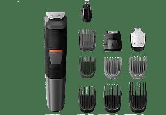 Afeitadora - Philips Serie 5000 MG5730/18, barba, cuerpo y cortapelos, 11 en 1, 80 min, Seco y húmedo