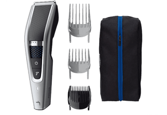 Cortapelos - Philips HC 5630/15, 28 longitudes, 90min autonomía, Varios accesorios, Cuchillas inox