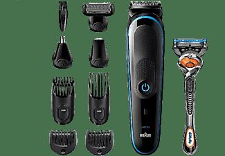 Recortadora - Braun MGK5280 9 En 1, Set de Depilación corporal y Cortapelos para hombre, 100 min, Negro