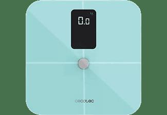 Báscula de baño - Cecotec Surface Precision 10400 Smart Healthy Vision Blue,180 kg, Bluetooth, LCD, Azul