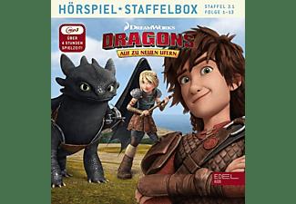 Dragons-auf Zu Neuen Ufern - Staffelbox 3.1  - (MP3-CD)
