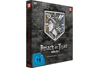 Attack on Titan Staffel 1 - Gesamtausgabe DVD