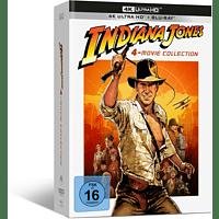 Indiana Jones 1-4 4K Ultra HD Blu-ray + Blu-ray