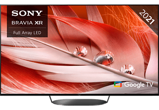 SONY XR-55X92J LED TV (Flat, 55 Zoll / 139 cm, UHD 4K, SMART TV, Google TV)