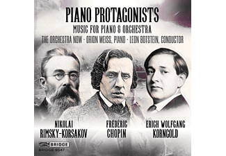 Orion Weiss, The Orchestra Now - Piano Protagonists  - (CD)