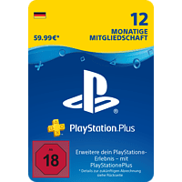 Sony PlayStation Plus: Mitgliedschaft 12 Monate DE - [PlayStation 4]